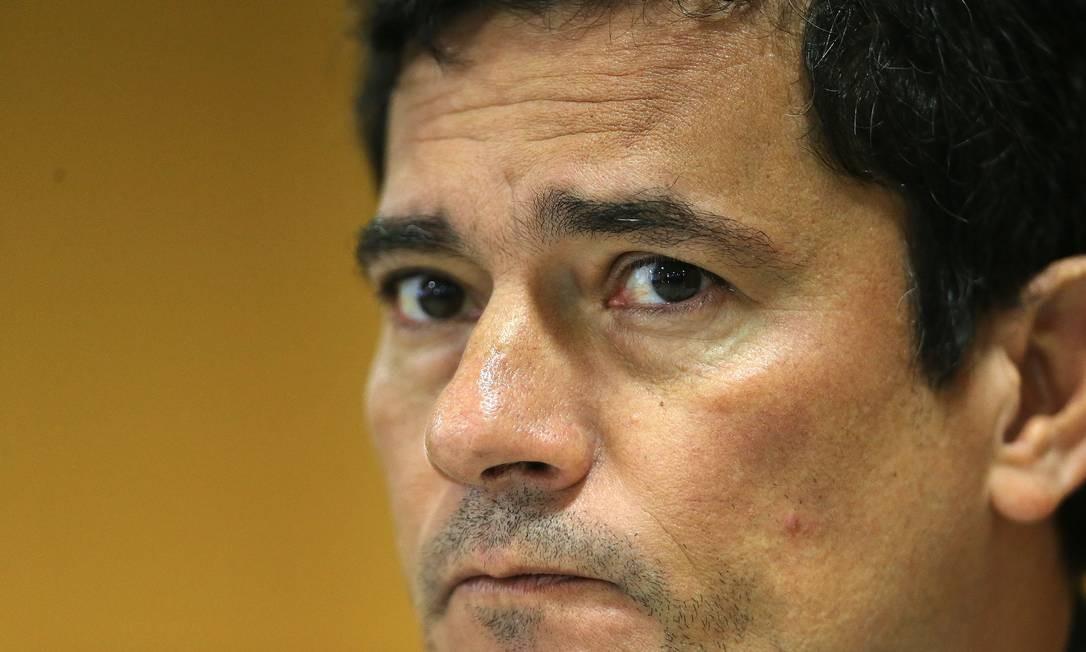 Sérgio Moro é ministro da Justiça Foto: Jorge William / Agência O Globo