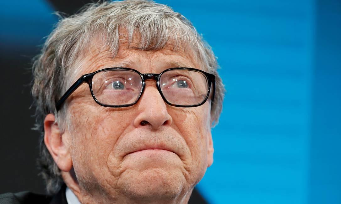 Ao lado de Paul Allen, Bill Gates fundou a Microsoft em 1975 Foto: Arnd Wiegmann / REUTERS