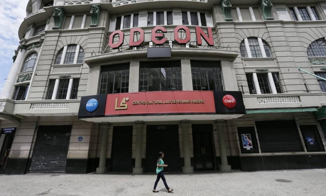 Cinema Odeon: fechado ao público Foto: Custódio Coimbra / Agência O Globo