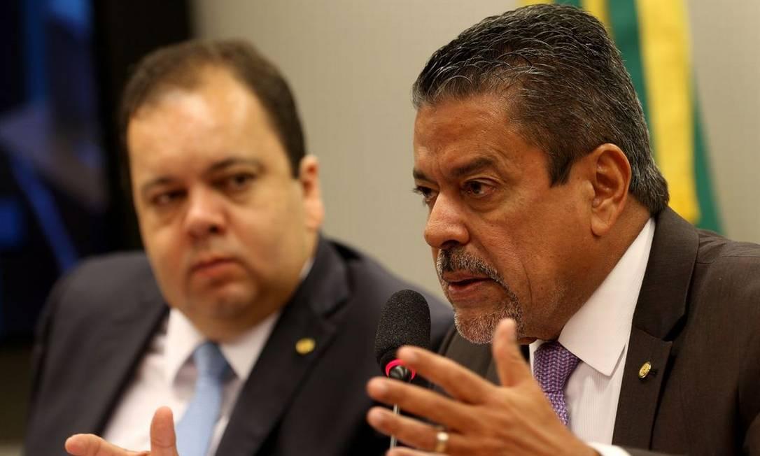 Hiran Gonçalves (PP-RR), presidente da Frente Parlamentar da Medicina Foto: Wilson Dias / Agência Brasil
