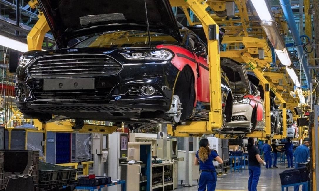 A fábrica da Ford em Valência, na Espanha, produz cerca de 400 mil veículos por ano Foto: Ford