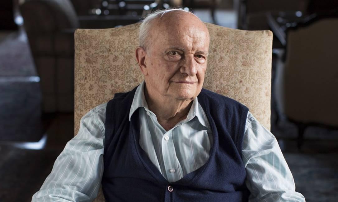 Afonso Arinos, em 2013 Foto: Daniela Dacorso
