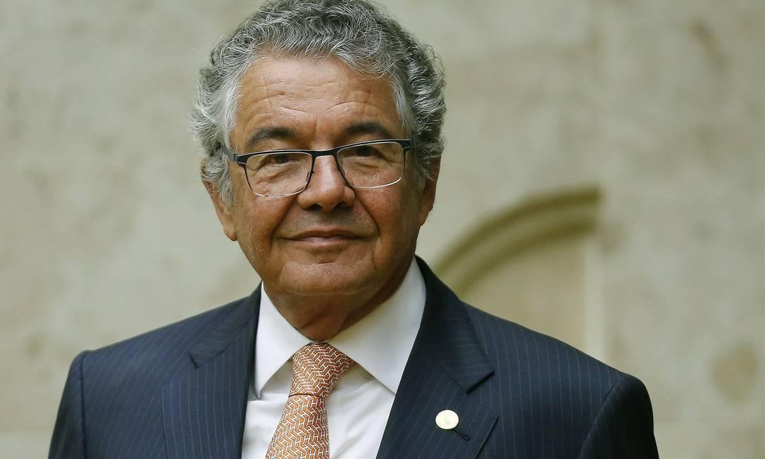 Na foto, o ministro Marco Aurélio Mello Foto: Jorge William / Agência O Globo