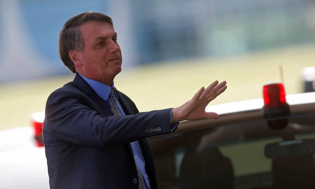O presidente Jair Bolsonaro 16/03/2020 Foto: ADRIANO MACHADO / REUTERS