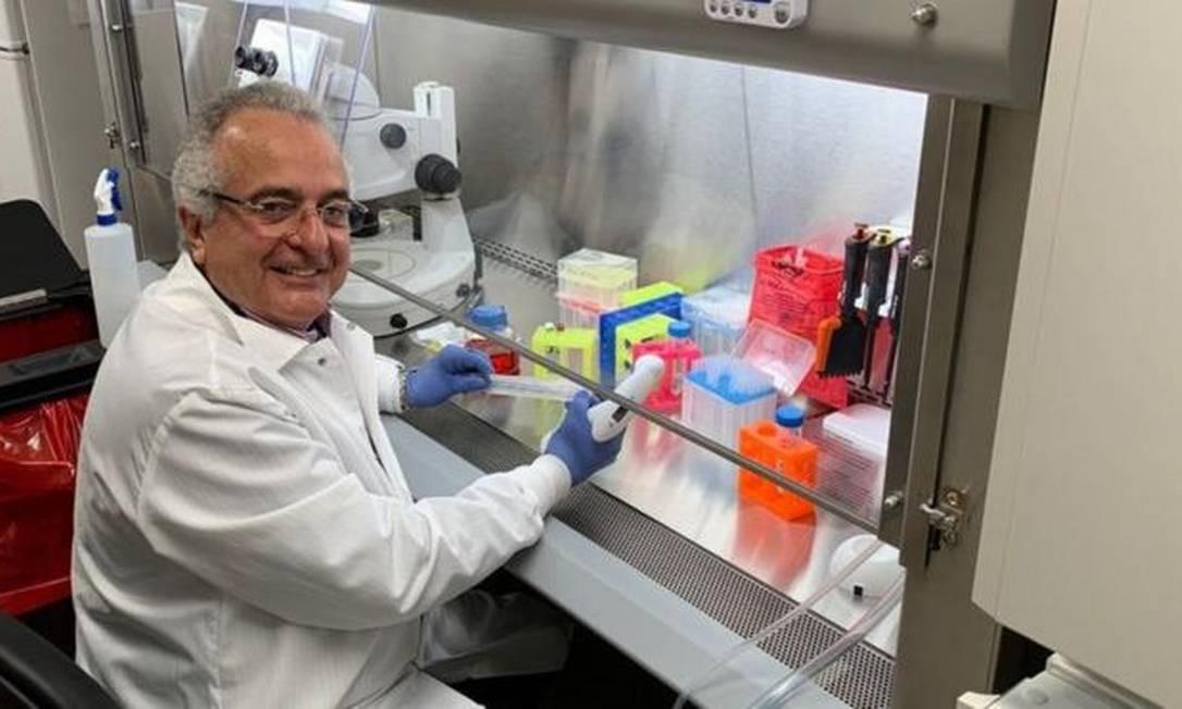 Médico Jorge Kalil, de 66 anos, está em isolamento após filho ser diagnosticado com covid-19 Foto: Reprodução