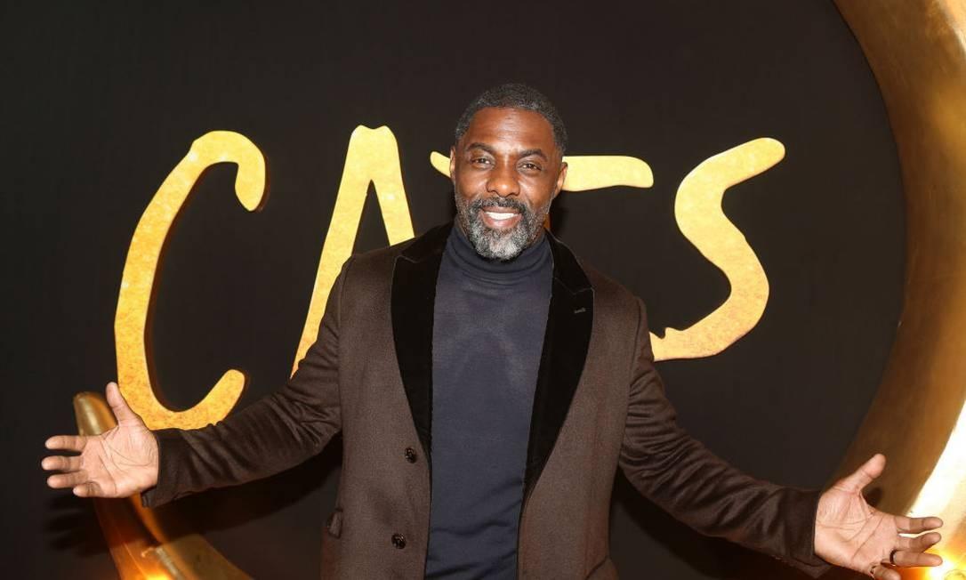 O britânico Idris Elba é um dos infectados pelo novo coronavírus Foto: Bruce Glikas / Bruce Glikas/FilmMagic