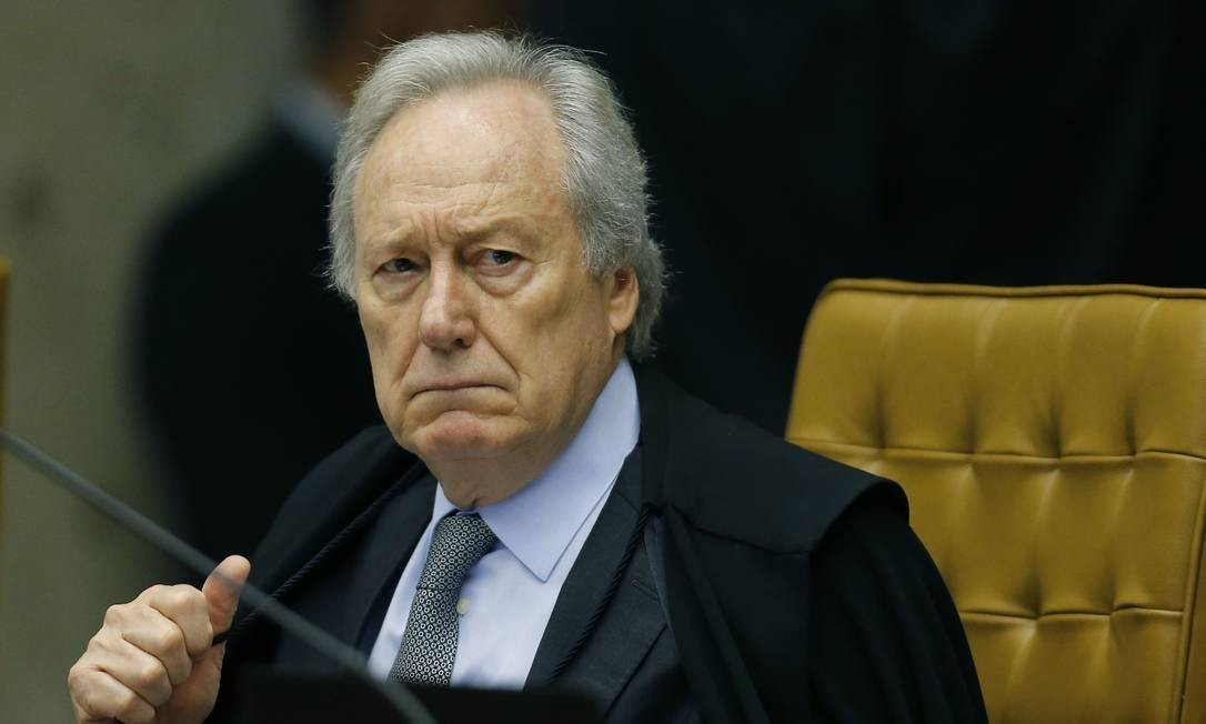 Ricardo Lewandowski tem 72 anos, idade considerada grupo de risco para o Covid-19 Foto: Jorge William / Agência O Globo