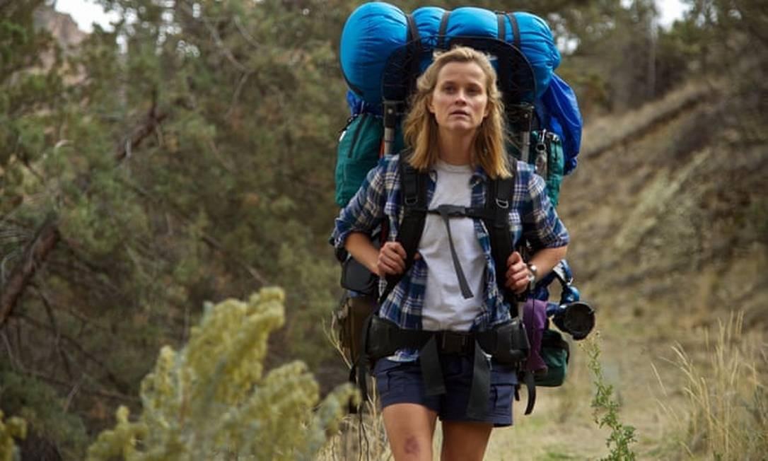 """Reese Witherspoon em cena do filme """"Livre"""" Foto: Divulgação"""