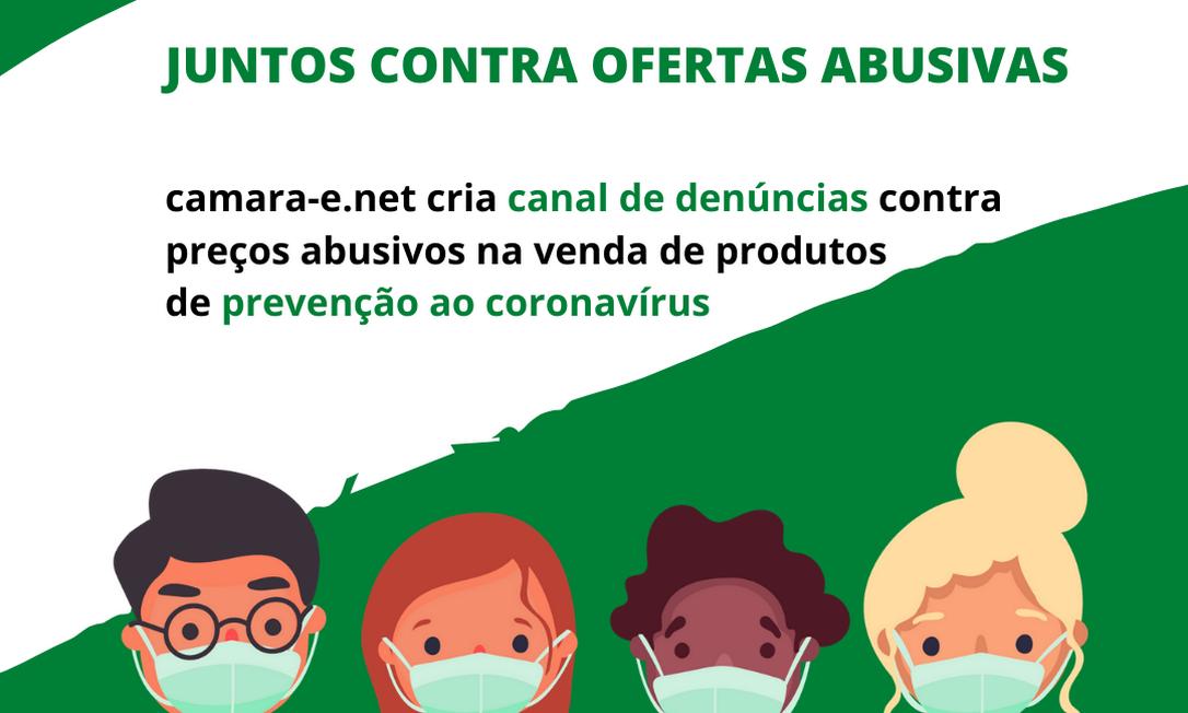 Campanha da camara-e.net e Senacon para coibir prática de preços abusivos Foto: Reprodução