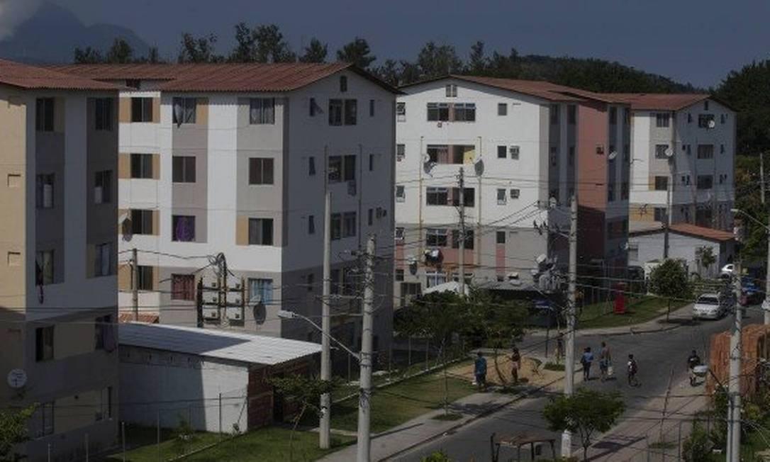 Conjunto habitacional do Programa Minha Casa Minha Vida no Rio de Janeiro Foto: Alexandre Cassiano/Agência O Globo