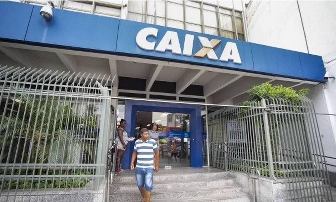 Agência da Caixa Econômica Federal Foto: Ana Branco/Agência O Globo