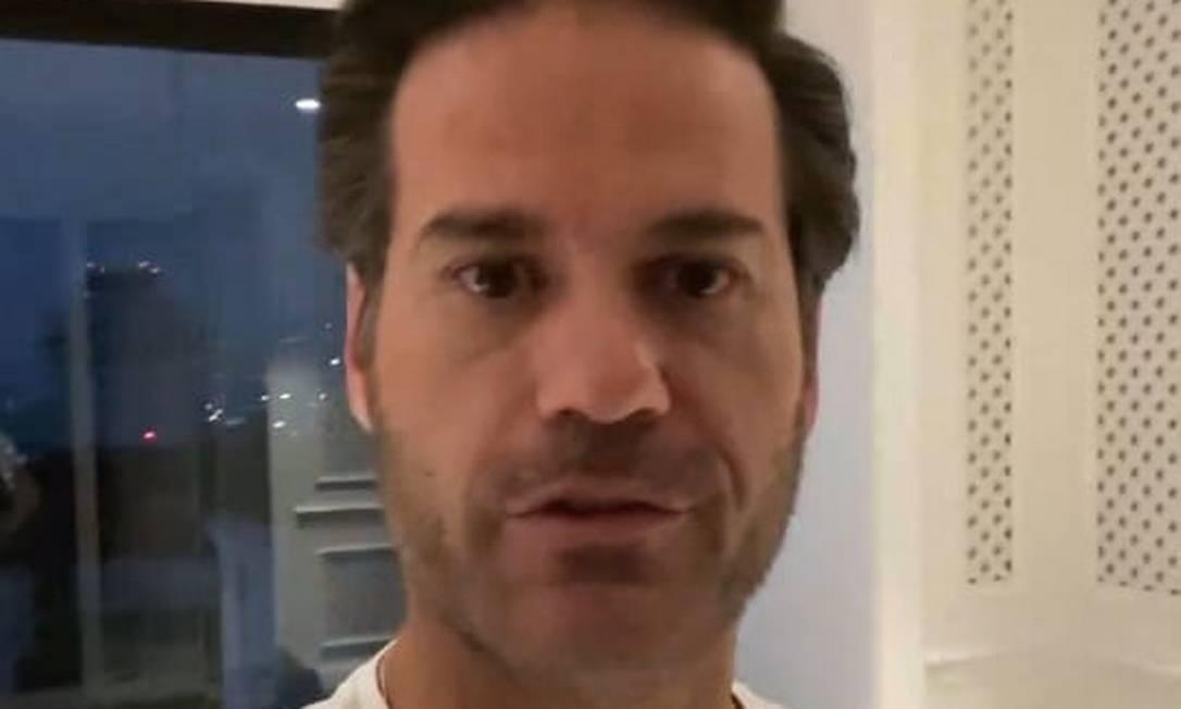 Em vídeo, CEO da Prevent Senior, Fernando Parrillo alerta para cuidados, diz que coronavírus se espalha muito rápido e não é gripe qualquer Foto: Reprodução / Whatsapp