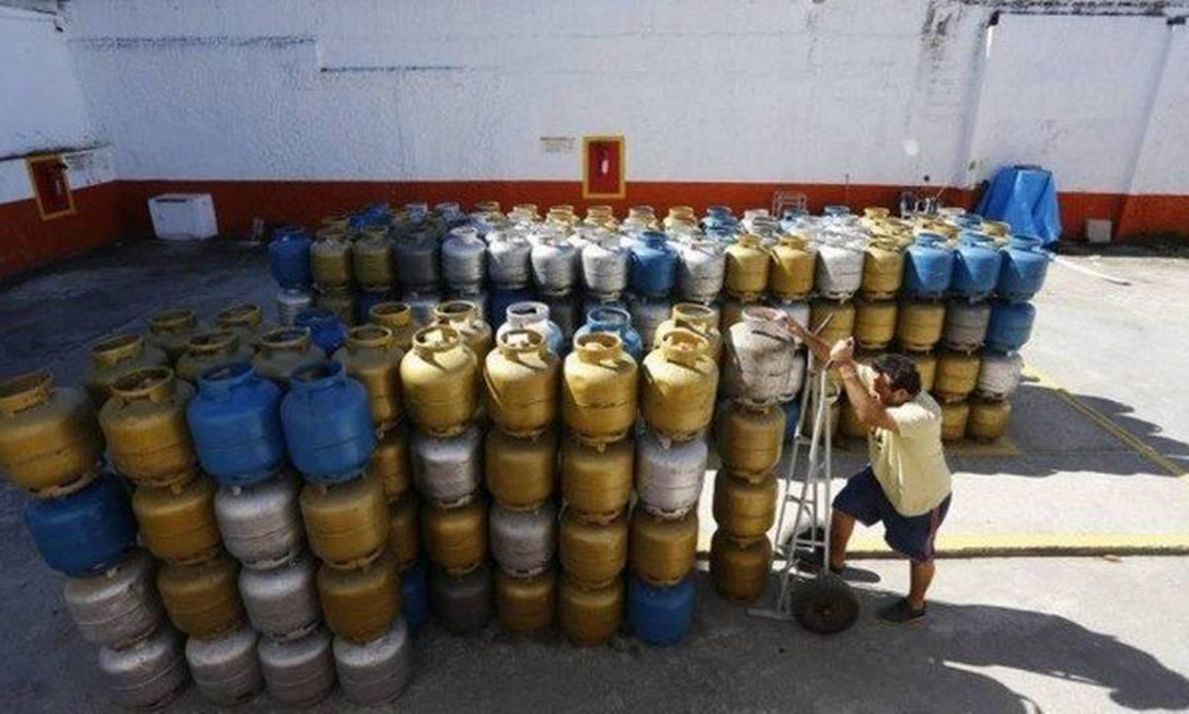 Gás de botijão vai ficar mais barato Foto: Pablo Jacob