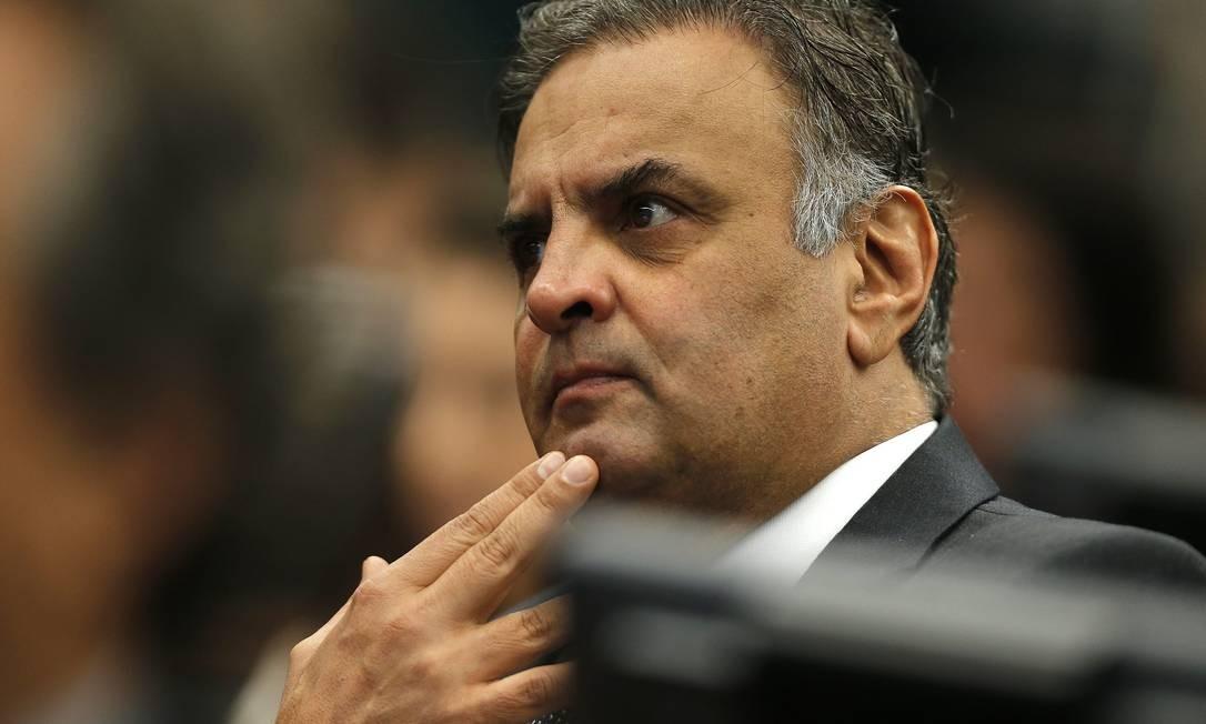 Na foto, o deputado Aécio Neves (PSDB-MG) Foto: Jorge William / Agência O Globo