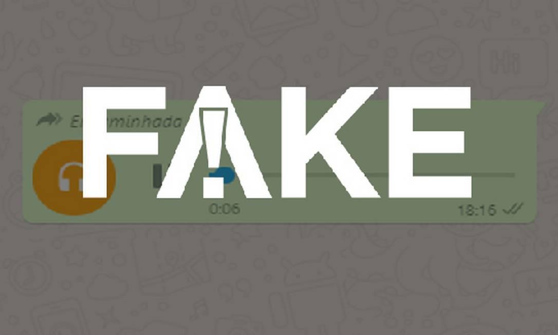 É #FAKE áudio que diz que Einstein tem 700 internados com coronavírus e Sírio, o dobro disso Foto: Reprodução