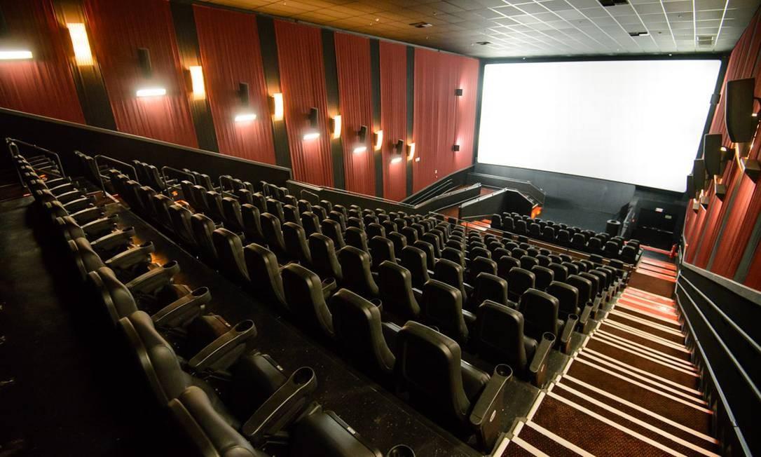 Vazio: no Rio de Janeiro, todas as salas de cinema já estão fechadas desde sexta-feira Foto: Divulgação