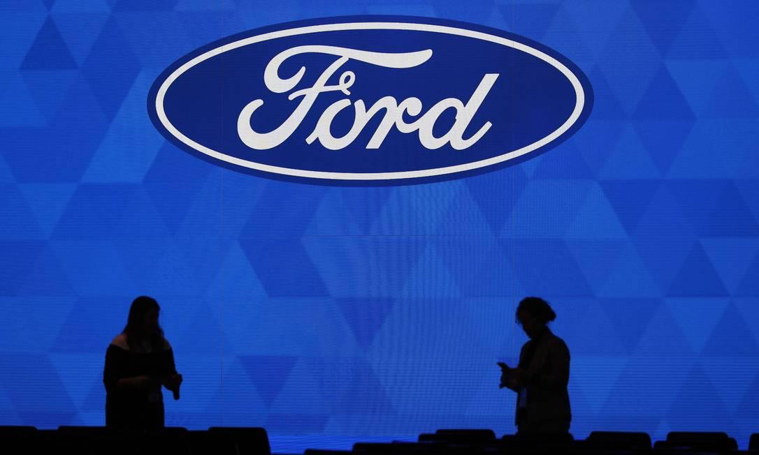 A Ford decidiu suspender a produção em suas fábricas no Brasil por causa da epidemia de coronavírus Foto: BILL PUGLIANO / AFP