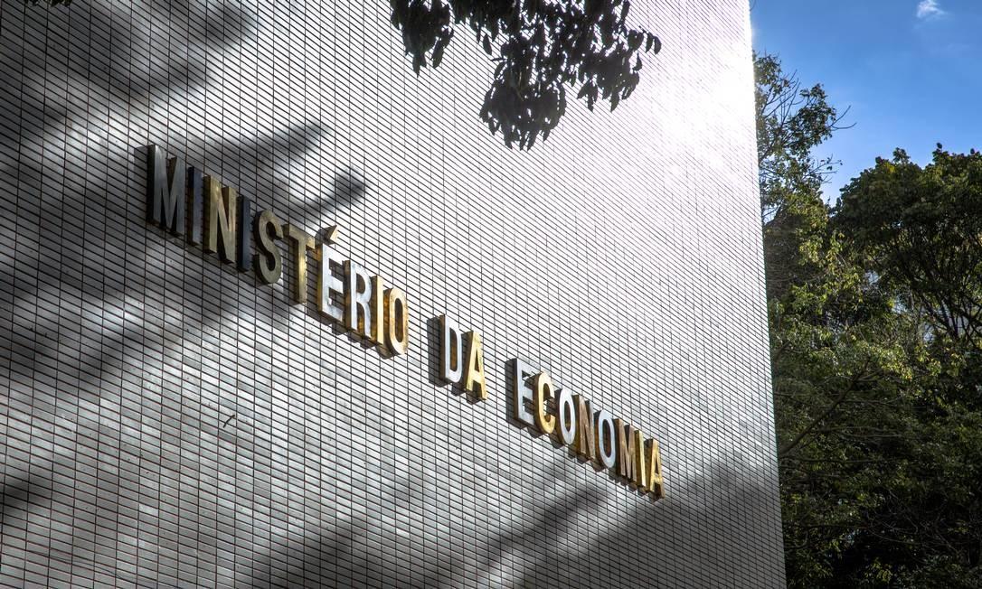 Sede do Ministério da Economia, em Brasília Foto: Hoana Gonçalves / Ministério da Economia