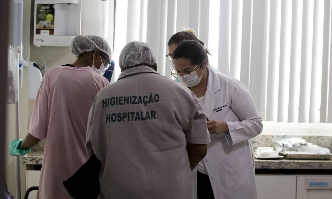 Atendimento em emergências hospitalares com foco em contaminados por coronavírus Foto: Márcia Foletto/06-03-2020