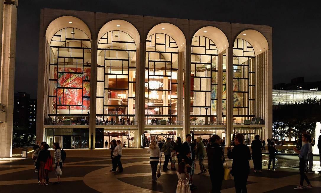 Metropolitan Opera, em Nova York, vai disponibilizar um espetáculo por dia via site oficial Foto: ANGELA WEISS / AFP