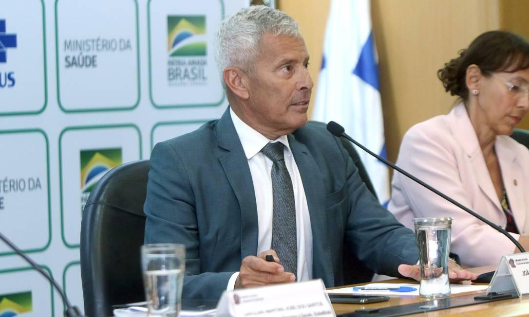 O secretário-executivo do Ministério da Saúde, João Gabbardo dos Reis Foto: ERASMO SALOMÃO/MINISTÉRIO DA SAÚDE