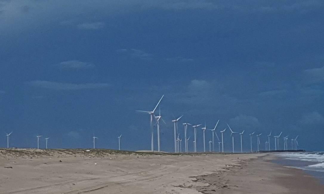 No longo prazo, projetos de geração eólica devem ser prejudicados Foto: Geralda Doca / Agência O Globo
