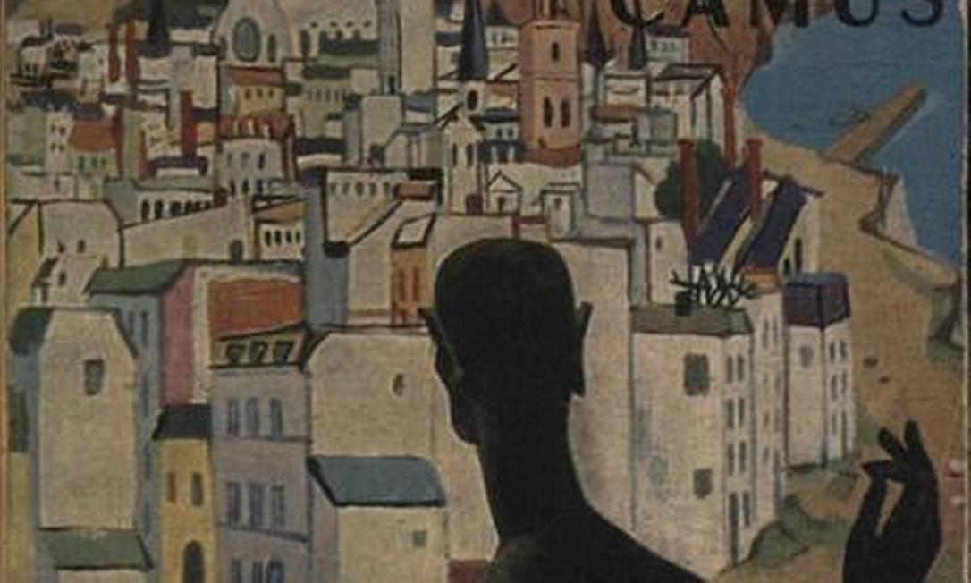 Edição de 'A peste', em francês Foto: Reprodução