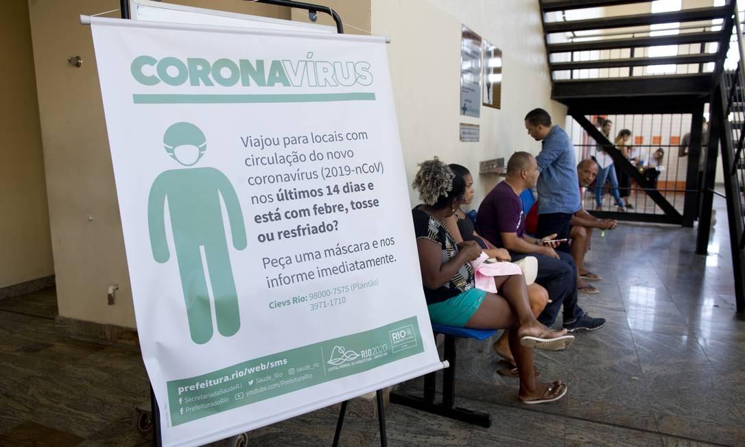 Hospital Municipal Ronaldo Gazolla, que deve receber a maior parte dos pacientes do coronavírus, no Rio Foto: Márcia Foletto / Agência O Globo