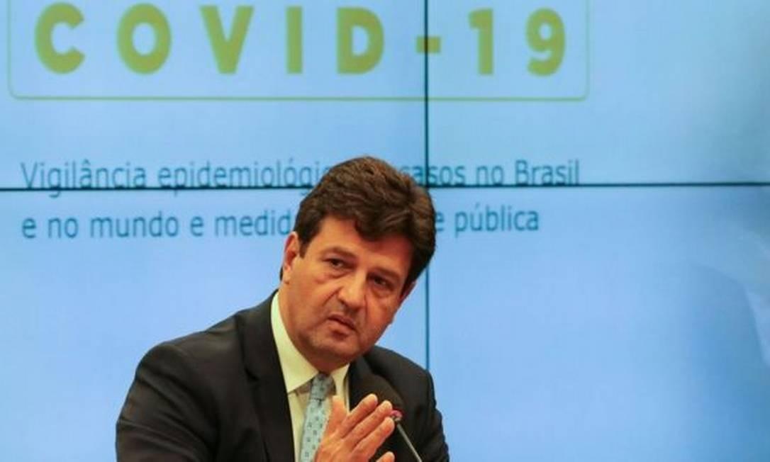 Luiz Mandetta, ministro da Saúde Foto: FABIO RODRIGUES POZZEBOM/AG. BRASIL