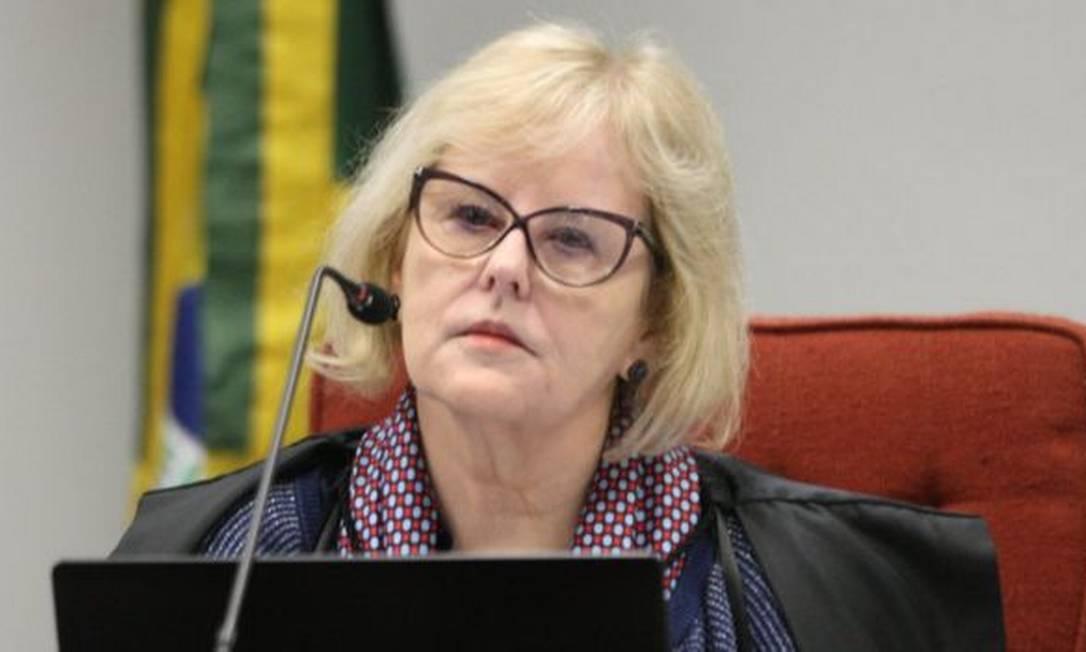 Rosa Weber, ministra do STF e presidente do TSE Foto: NELSON JR./STF
