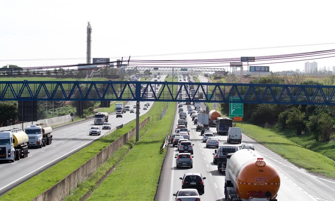 Rodovia: governo anuncia medidas para setor de transporte Foto: Código 19 / Agência O Globo