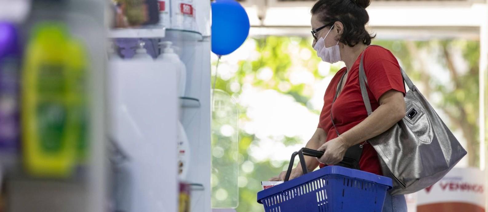 Cloroquina, medicamento contra doenças autoimunes, está em falta em todas as farmácias do Rio. Foto Ana Branco / Agencia O Globo Foto: Ana Branco / Agência O Globo