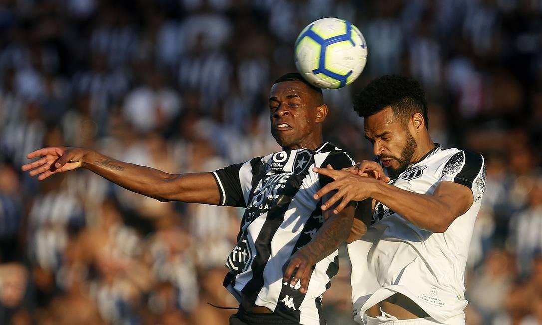 Benevenuto. Botafogo x Ceara no Estadio Nilton Santos. 08/12/2019, Rio de Janeiro, RJ, Brasil Foto: Vitor Silva / Vitor Silva