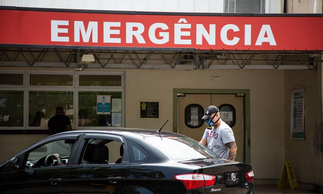 Hospital Lourenço Jorge na Barra da Tijuca Foto: Hermes de Paula / Agência O Globo