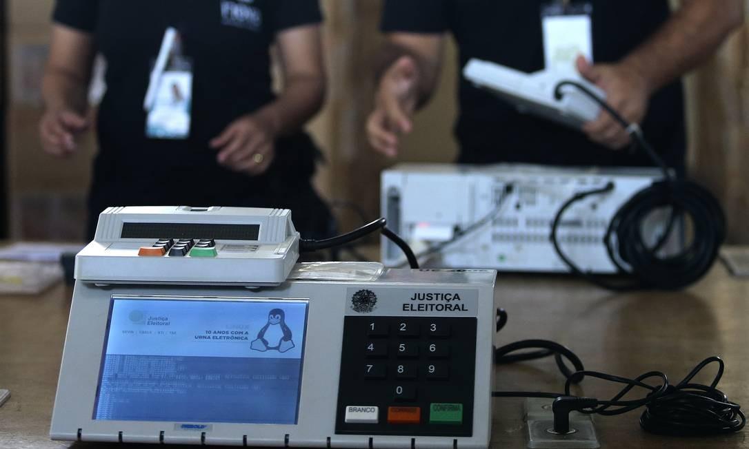 Eleições municipais estão programadas para outubro, mas crise do novo coronavírus atrabalha pré-campanha em pelo menos três estados Foto: Jorge William / Agência O Globo