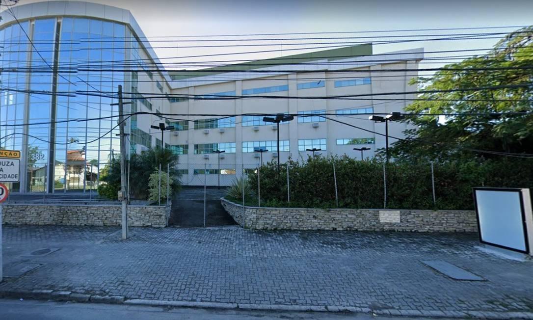 O Hospital Oceânico na Avenida Raul de Oliveira Rodrigues, em Piratininga. Foto: Reprodução/Google