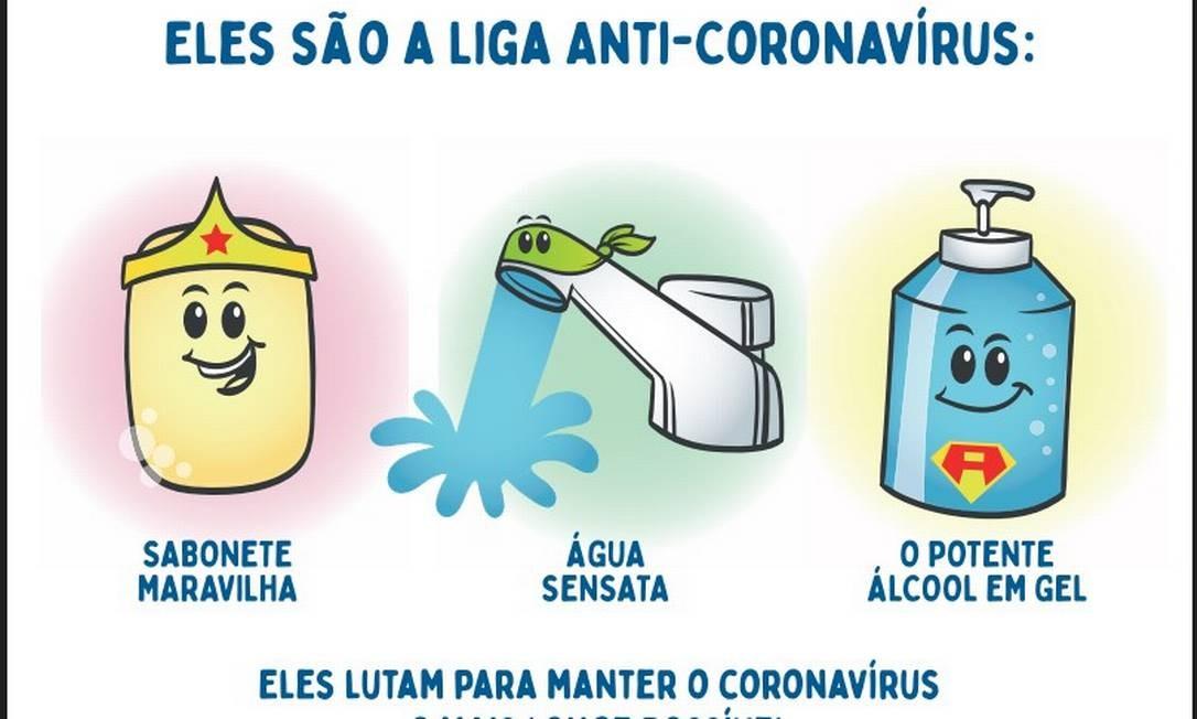 Liga Anti Coronavirus Entra Em Acao Para Explicar Os Cuidados De Combate Ao Virus As Criancas Jornal O Globo