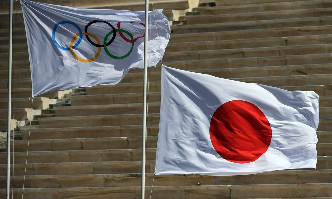 Jogos Olímpicos de Tóquio foram adiados Foto: ARIS MESSINIS / AFP