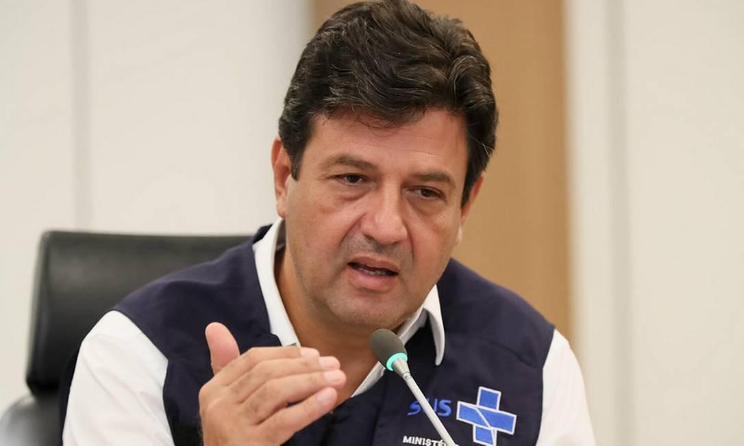 Ministro da Saúde, Luiz Henrique Mandetta Foto: Divulgação