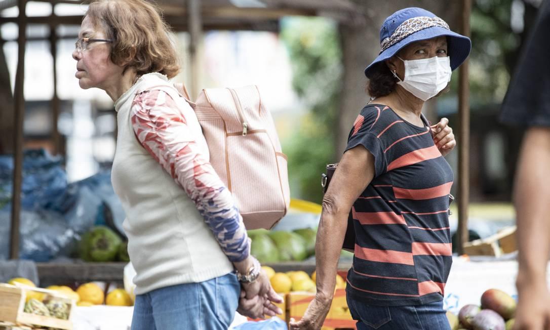Estado do Rio tem 186 casos confirmados, 3 óbitos e 10 mortes sob investigação por coronavírus Foto: Ana Branco / Agência O Globo
