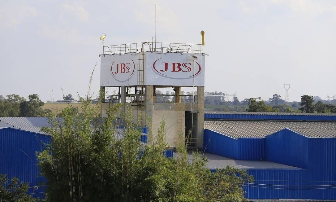 Unidade da JBS em Jaguariuna, SP Foto: Edilson Dantas / Agência O Globo