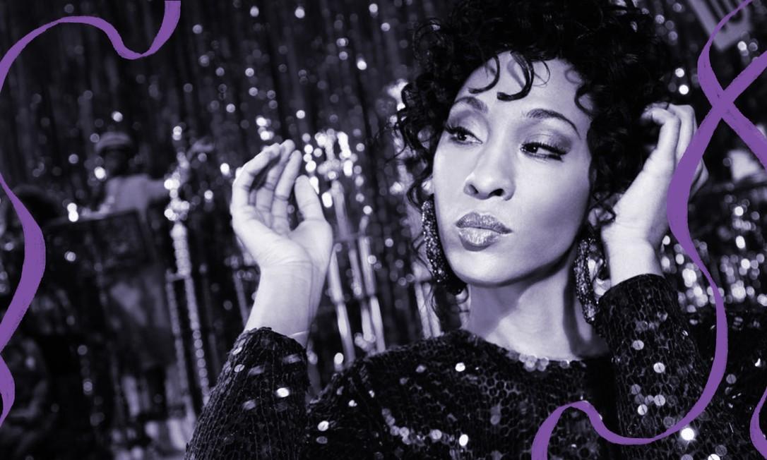 Blanca, vivida por MJ Rodriguez, é uma das protagonistas de 'Pose', série que retrata os bailes nos anos 80 em Nova York, nos Estados Unidos Foto: Divulgação