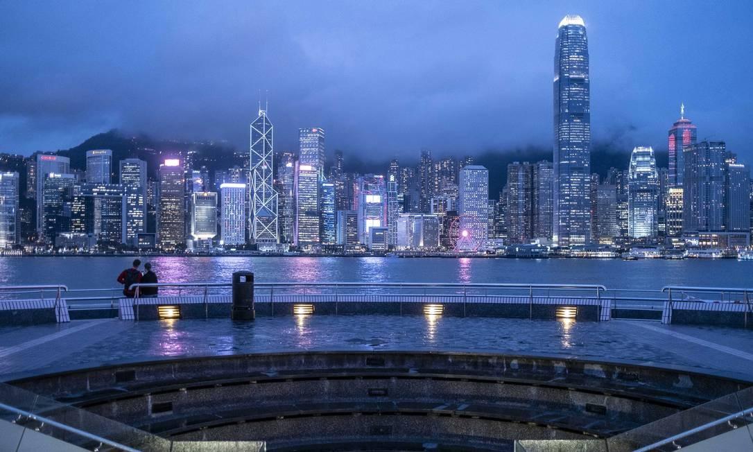 Visão geral de Tsim She Tsui, em Hong Kong Foto: Lam Yik Fei / NYT