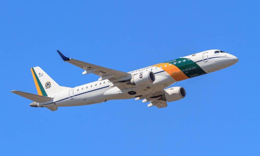 O avião que irá resgatar os brasileiros Foto: Divulgação/FAB