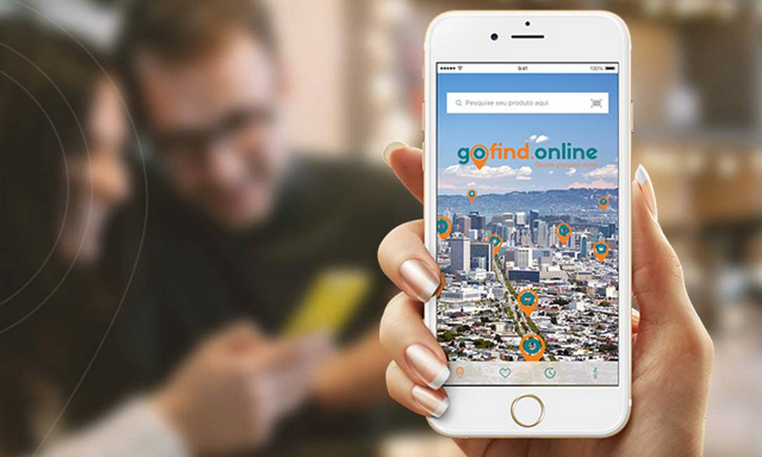 Aplicativo foi lançado pela start-up Gofind Foto: Divulgação