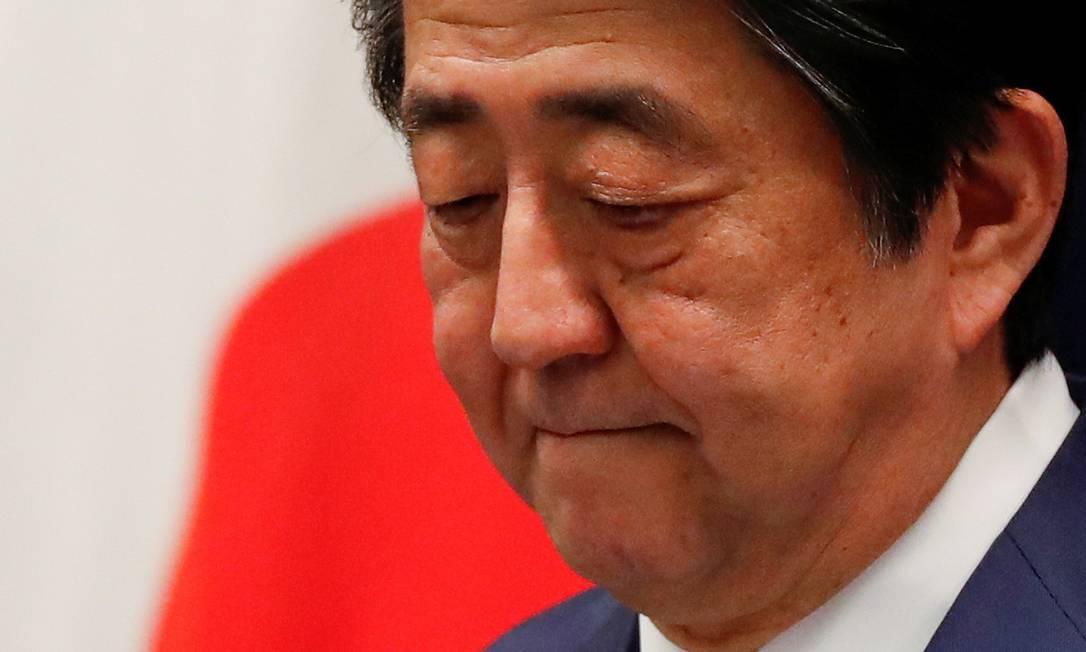 Shinzo Abe, primeiro-ministro do Japão Foto: Issei Kato / REUTERS