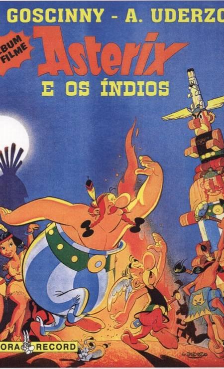 Edição brasileira de uma das aventuras dos gauleses 'Asterix e Obelix' Foto: Divulgação