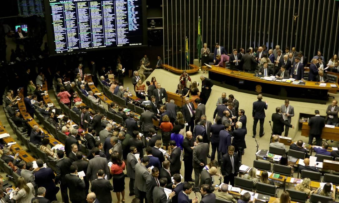 Plenário da Câmara dos Deputados Foto: Wilson Dias / Agência Brasil