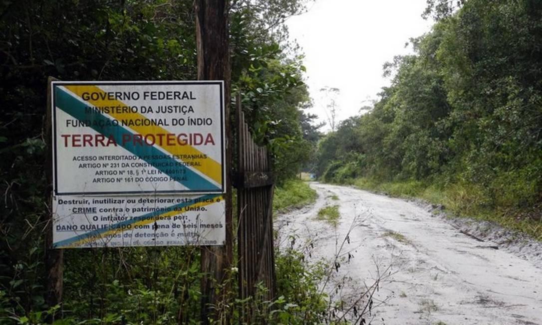 Funai anula demarcação de terra indígena no Paraná Foto: Albari Rosa/Gazeta do Povo/Divulgação/Funai