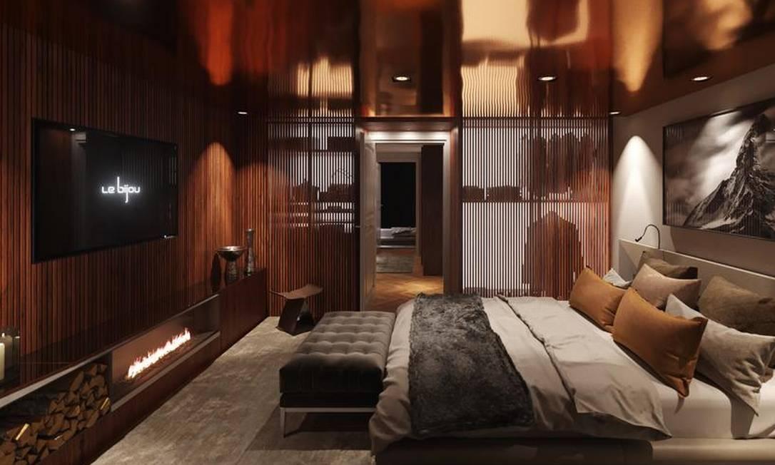 O hotel Le Bijou oferece serviços médicos para quarentena de luxo em Zurique Foto: Reprodução